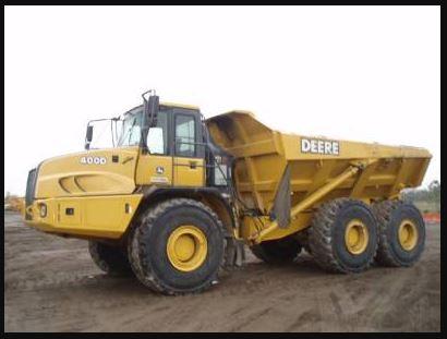 John Deere 400d Articulated Dump Truck price
