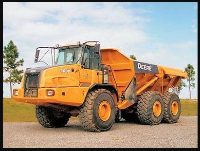 John Deere 400d Articulated Dump Truck