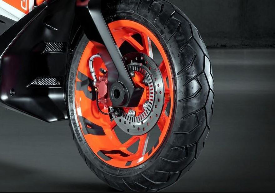 ktm e speed electric scooter tyre
