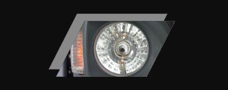 Atul Gemini LPG Auto Rickshaw MULTIFOCAL HEADLAMP WITH HALOGEN BULB