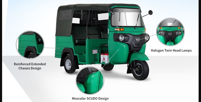 Bajaj RE Maxima Auto Rickshaw safety