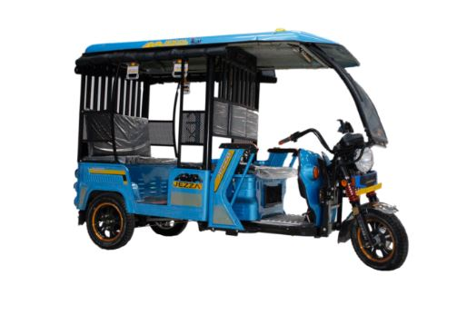 JEZZA Super J1000 Electric Rickshaw Price Features & Images
