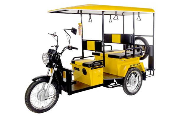 Lohia Comfort E-Rickshaw Price Specifications, Key Features & Images