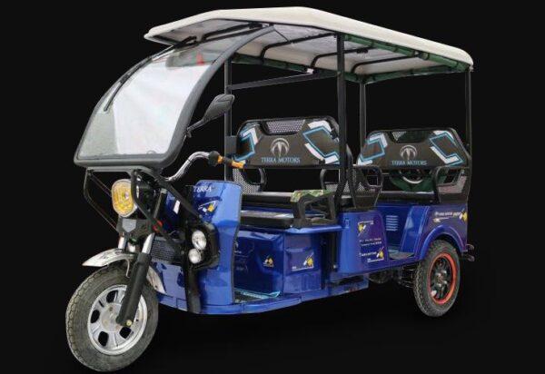 Terra Motors Y4A Samurai E-Rickshaw Price Specs Features & Pics