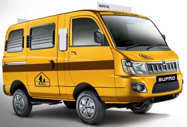 Mahindra Supro School Van Price List Specs Features Mileage & Images