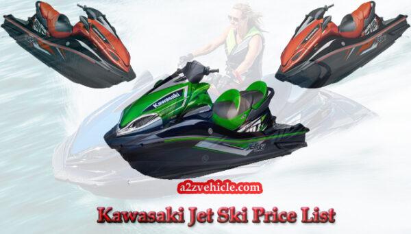 kawasaki jet ski price list in India
