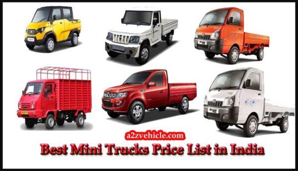 Best Mini Trucks in India