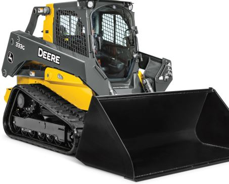 John Deere 333G Compact Track Loader Key Features