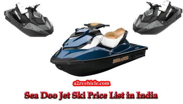 Sea Doo Jet Ski Prices