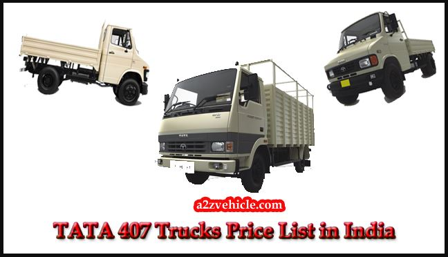 TATA 407 Price List