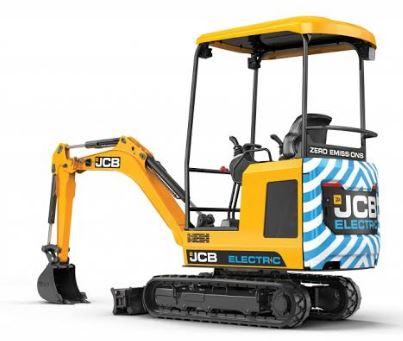 JCB 19C-1E Electric Mini Excavator Price