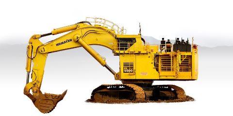 Komatsu PC5500-6 Mining Shovel Price