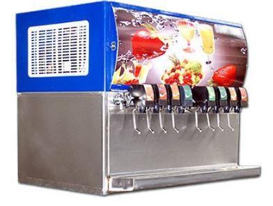 8 Flavour Soda Vending Machine