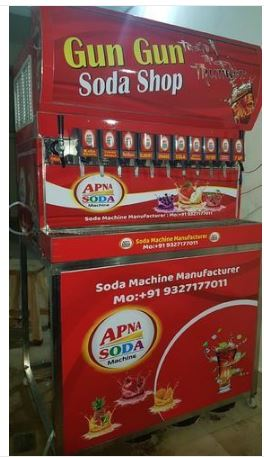Loose Beverages Commercial Soda Machine