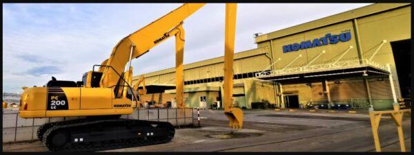 Komatsu Construction Equipment Manufacturers