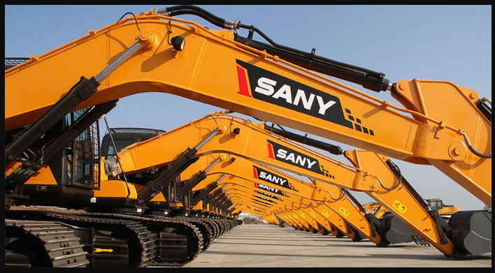 Sany Construction Equipment Manufacturers