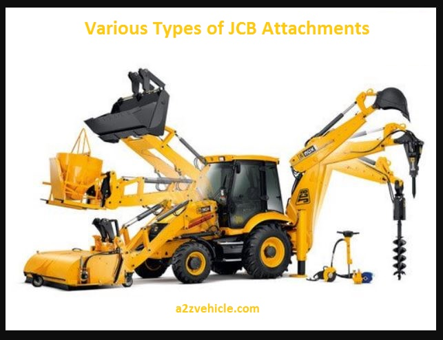 Types of JCB Attachments