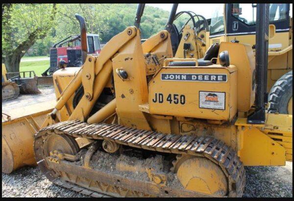 John Deere 450 Dozer Specifications