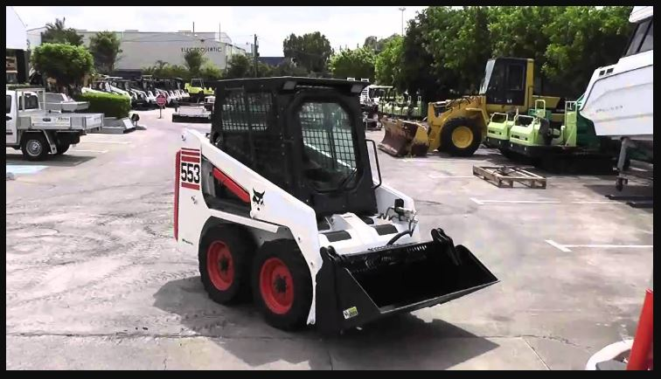 Bobcat 553 Specifications