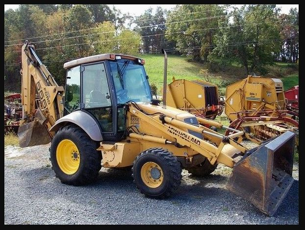New Holland 555e Specifications