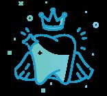 Dental Crown and Bridge Icon