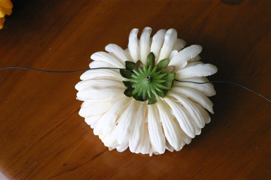 faux flower top