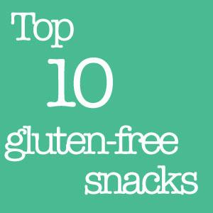 top 10 gluten free snacks