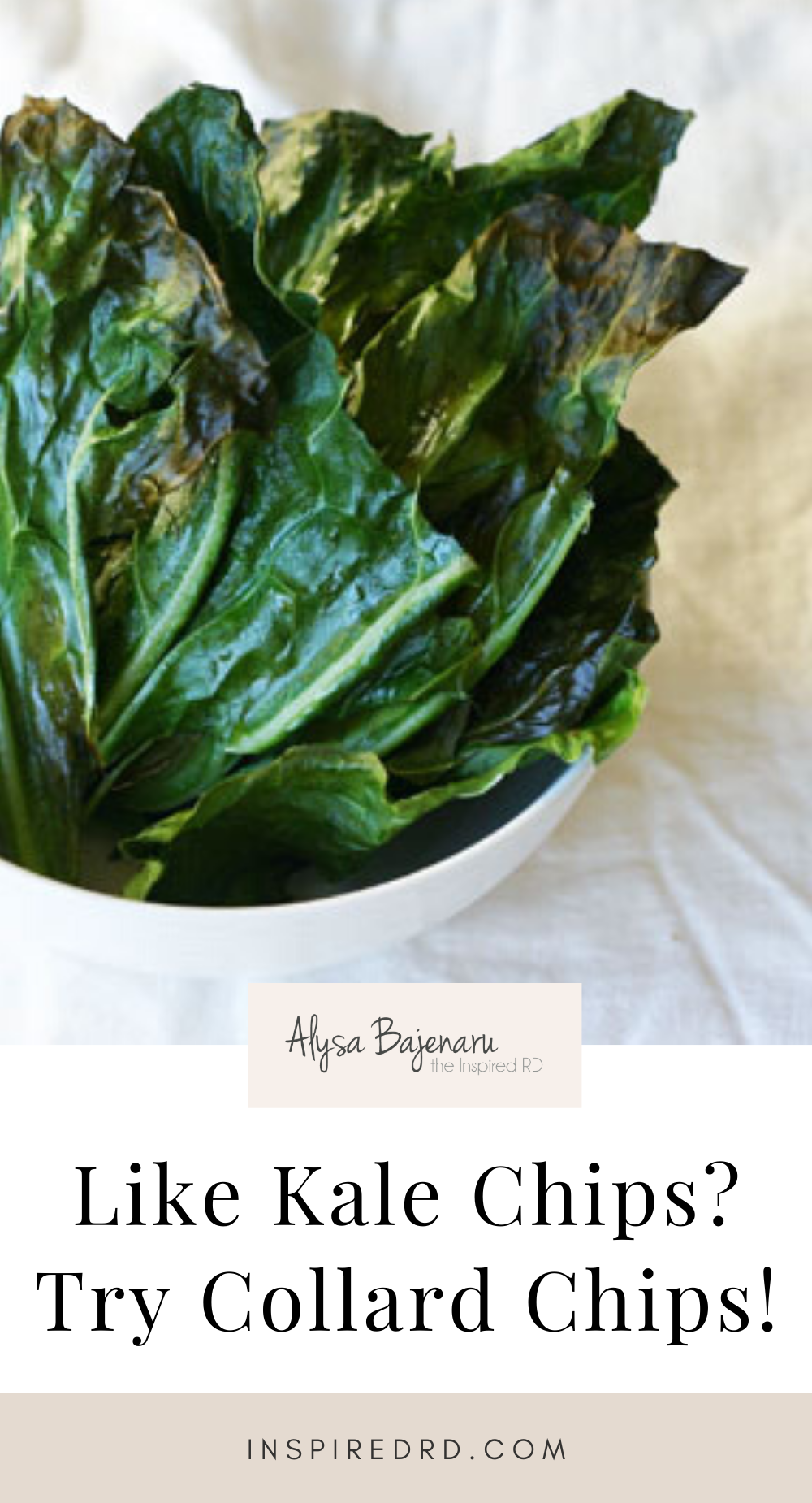 Like Kale Chips? Try Collard Chips!