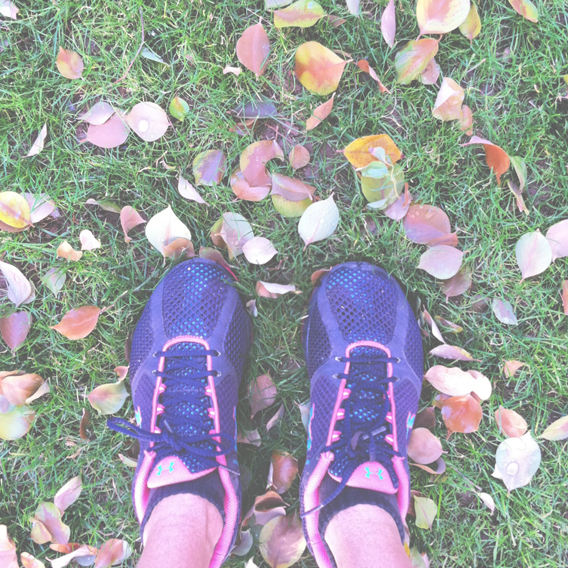 Finding my feet