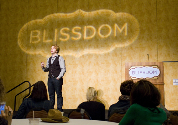 Jeff Goins at Blissdom