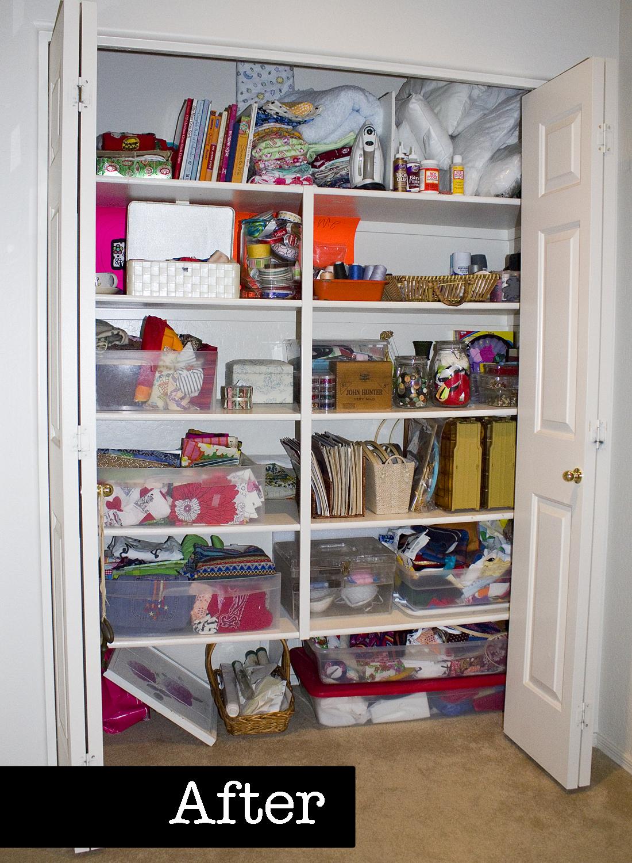 Project Simplify - Craft Closet