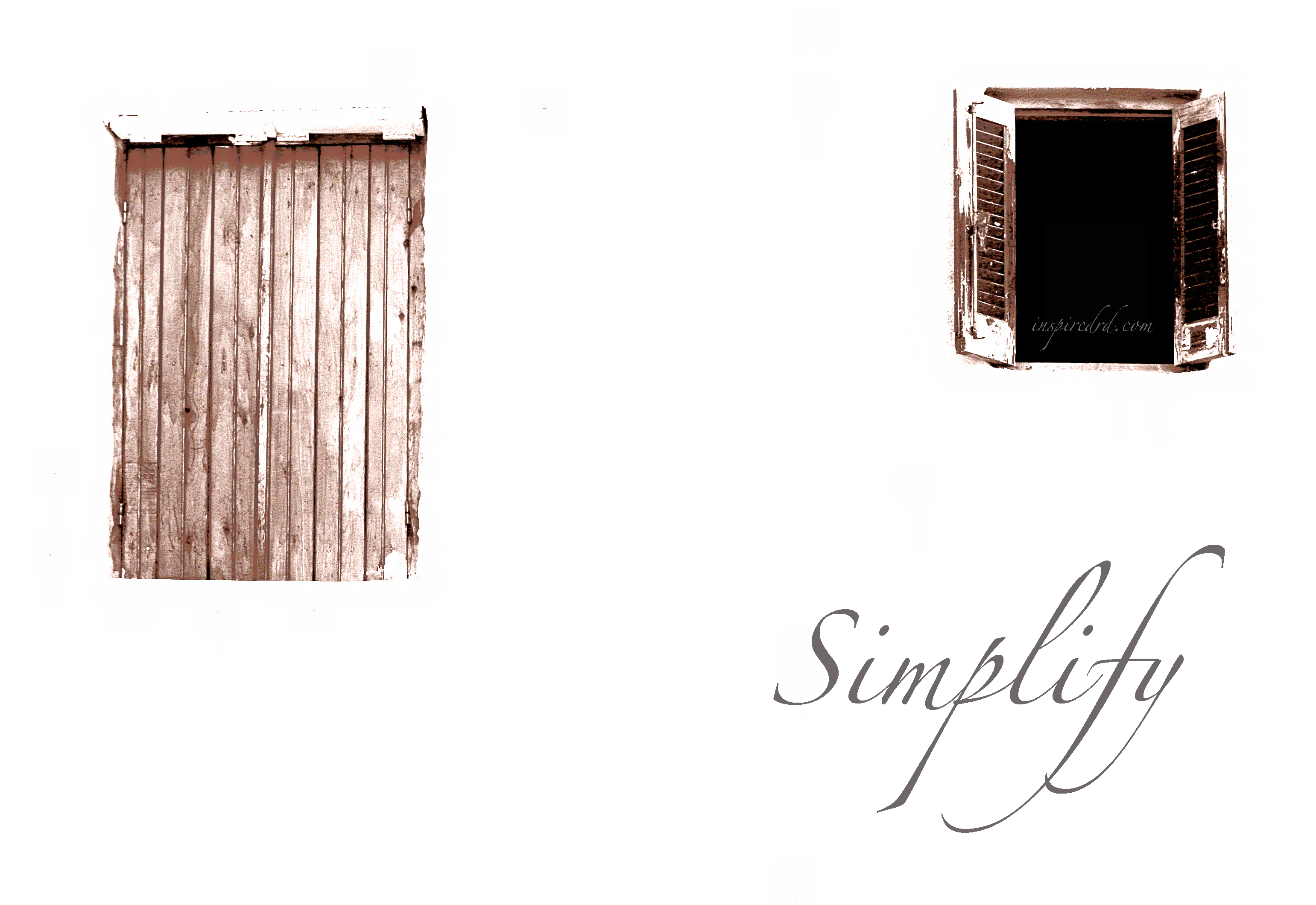 Why I want to simplify (and how you can too) from inspiredrd.com