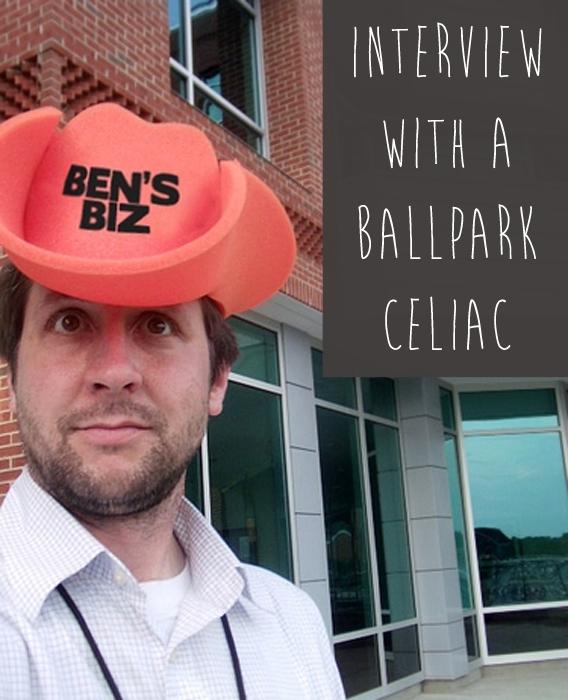 Interview with a Ballpark Celiac - inspiredrd.com