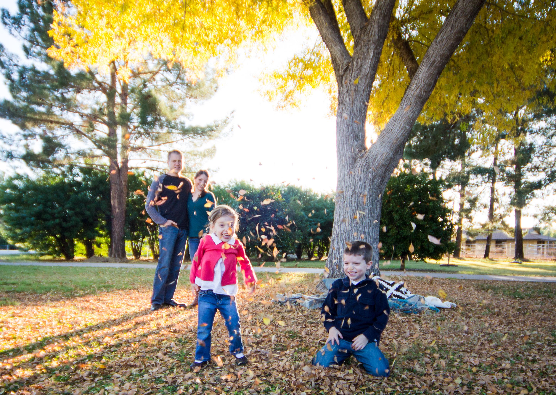 Fall Leaves Photo Session {Alysa Bajenaru Photography}