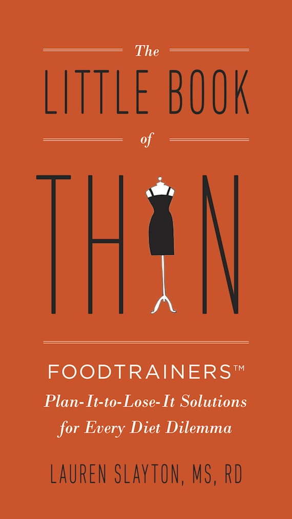 Enter to win The Little Book of Thin by Lauren Slayton on InspiredRD.com