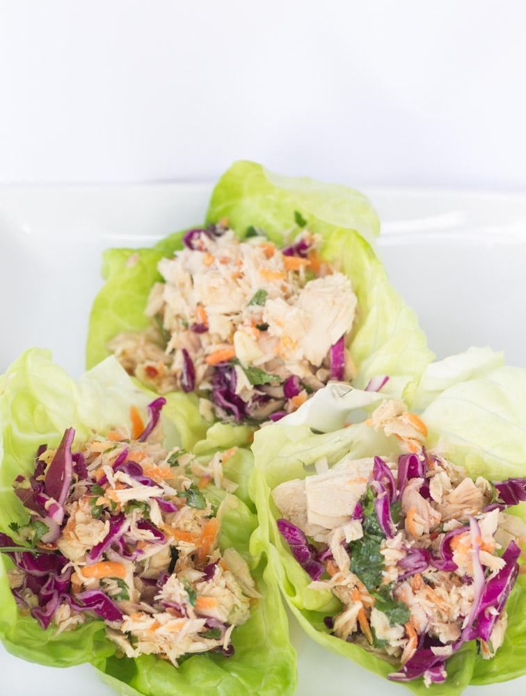 Asian Tuna Salad (No Mayo!) #glutenfree