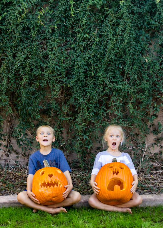 Halloween Pumpkin Faces | InspiredRD.com