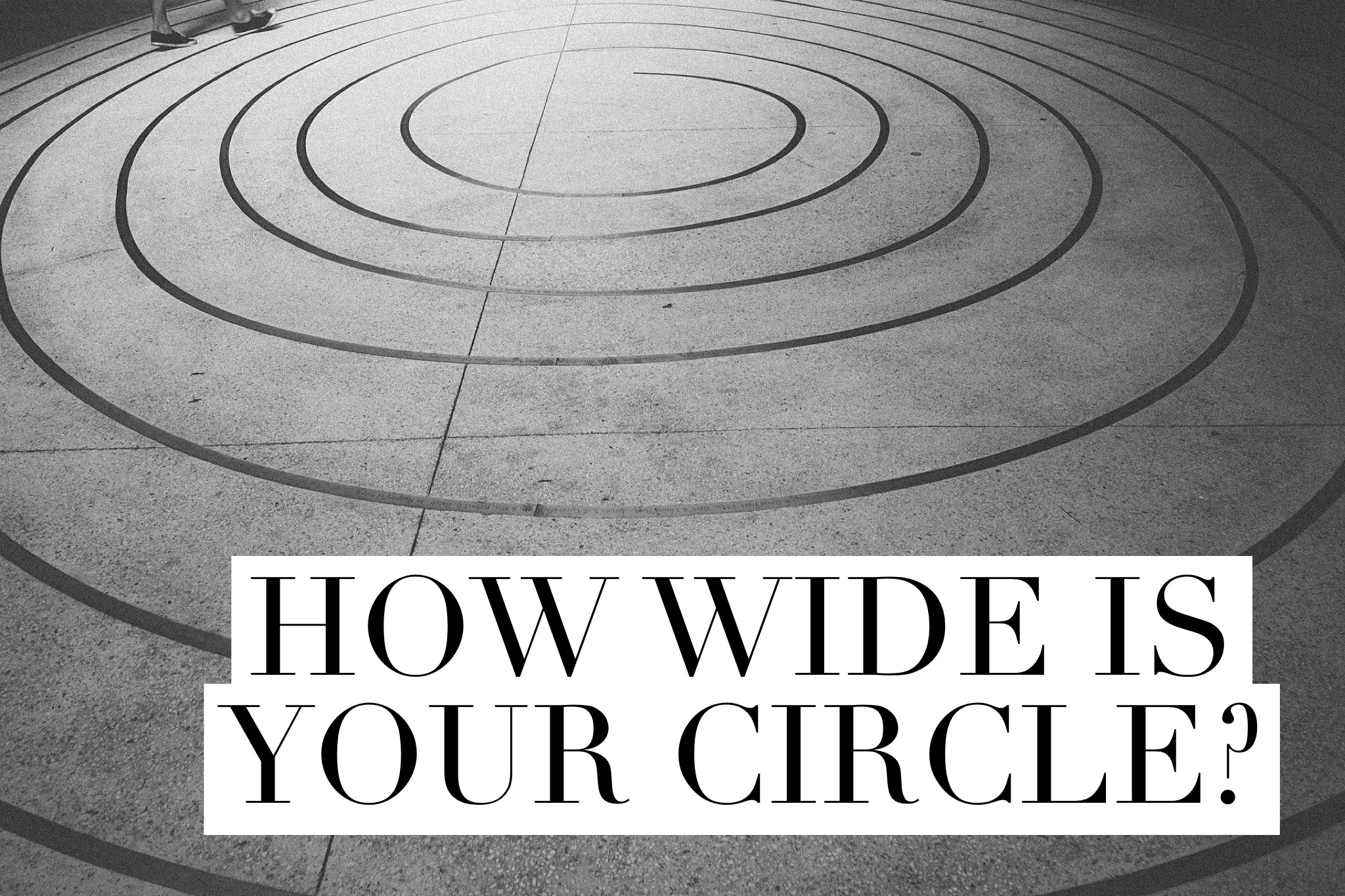 How wide is your circle?   InspiredRD.com