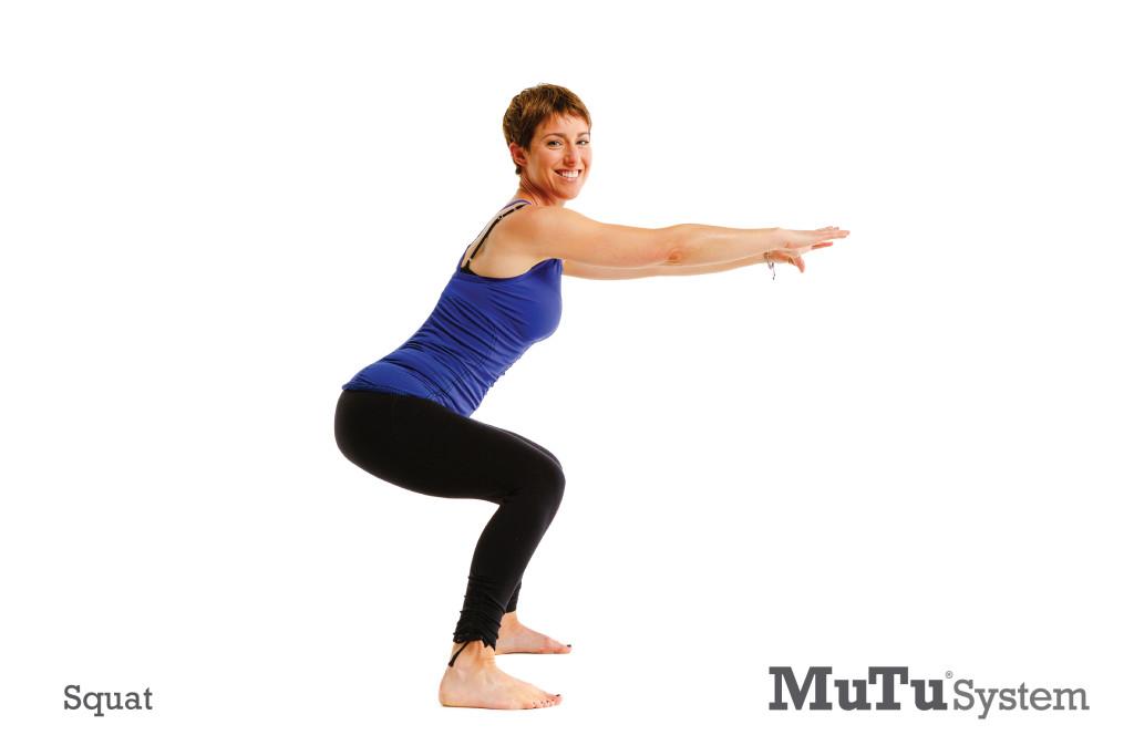 MuTu System | Squat Exercise | Fix Diastasis Recti