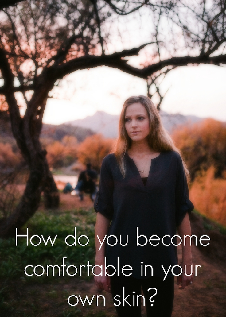 How do we become comfortable in our own skin with messages like these? |InspiredRD.com