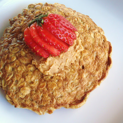 Quick & Easy Breakfast - The Oatmeal Pancake