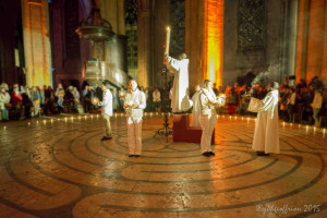 Office de la Lumiere, Labyrinth at Chartres by Jill K H Geoffrion, photographer