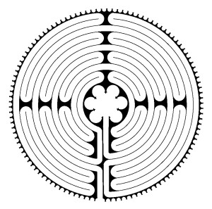 Chartres Labyrinth Design