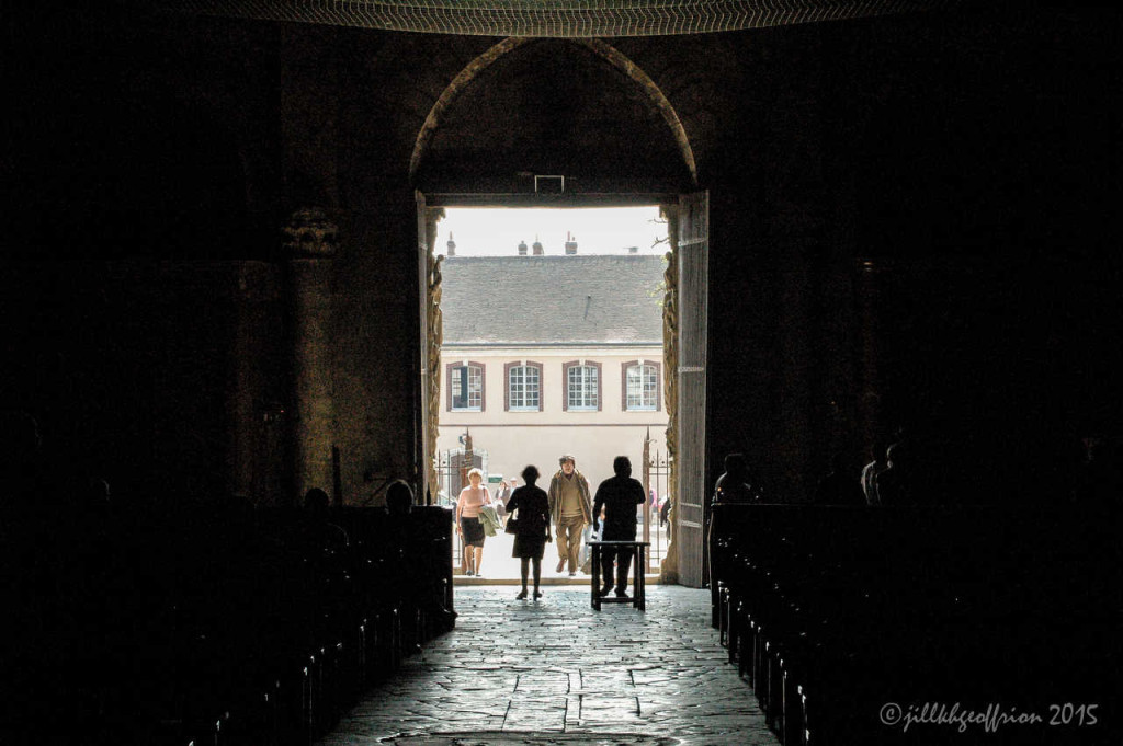 West portal of the Chartres Cathedral open by photographer Jill Geoffrion