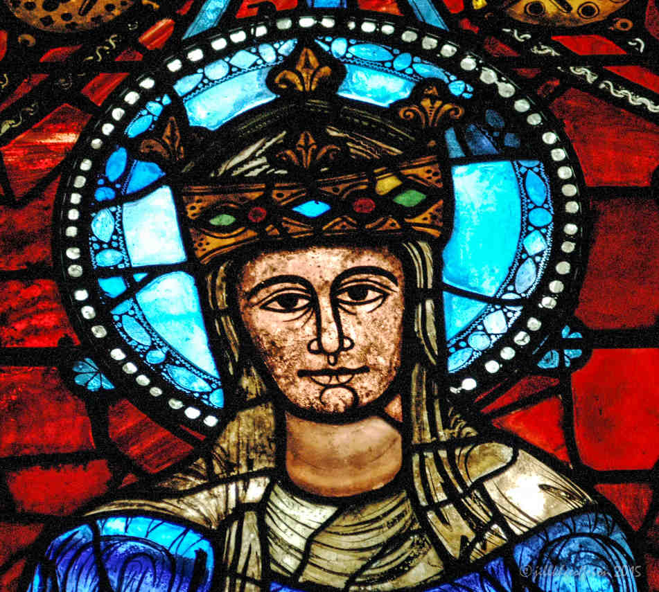 Crowned Mary, Our Lady of the Beautiful Window