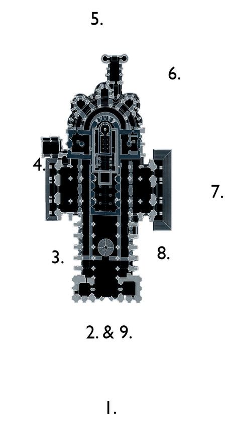 Circumambulation Stations