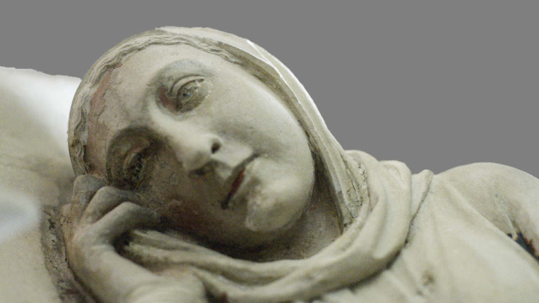 Mary Ponders, 13th century rood screen at Chartres Cathedral by photographer Jill K H Geoffrion