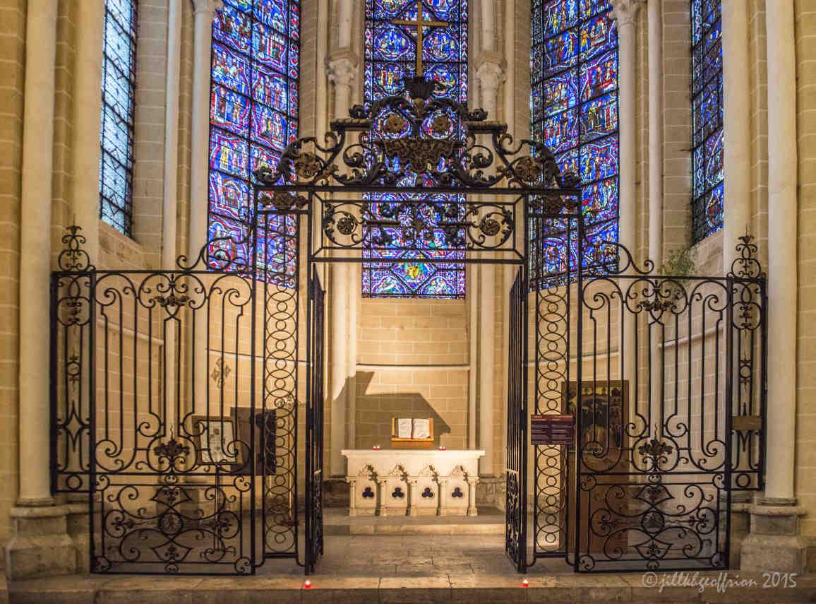 Ecumenical Chapel with Bible open by Jill K H Geoffrion