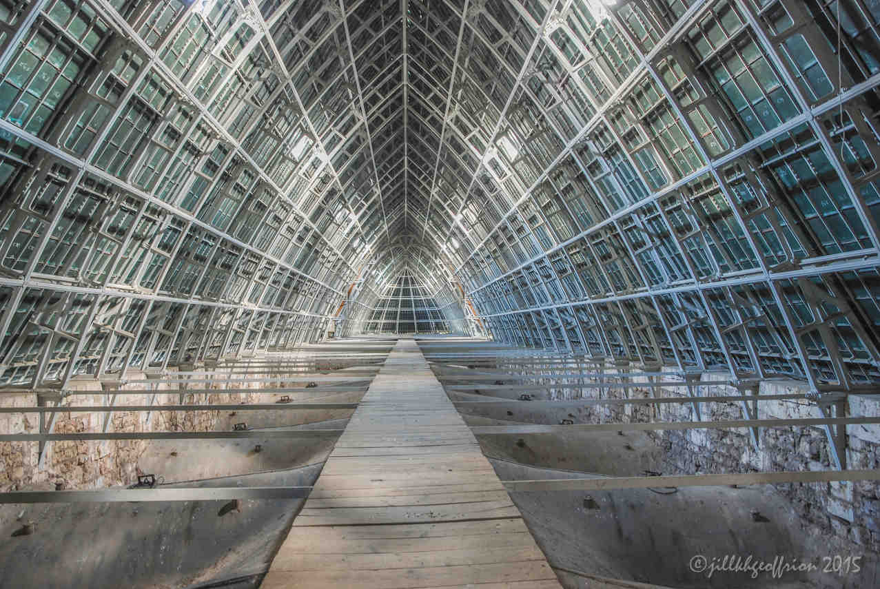 Walkway under the roof by photographer Jill K H Geoffrion