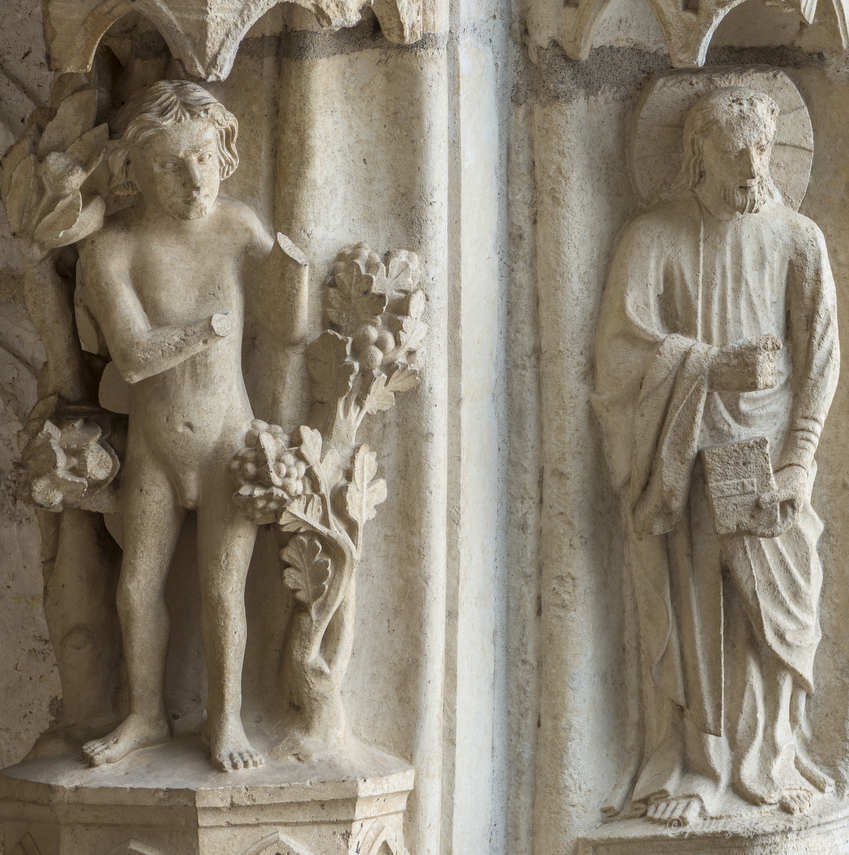 Adam and God in the Garden of Eden by Jill K H Geoffrion